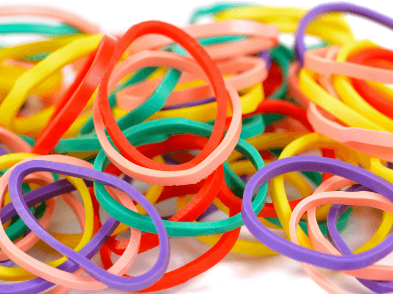 34 Creative Ways To Use Rubber Bands