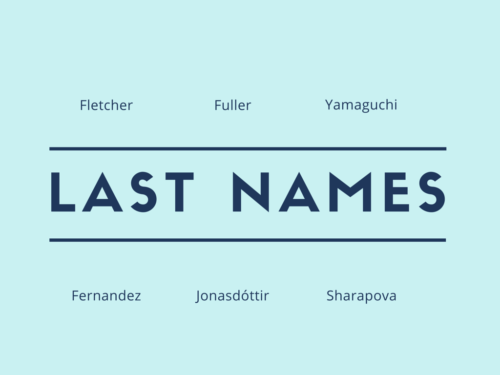 Common French Last Names