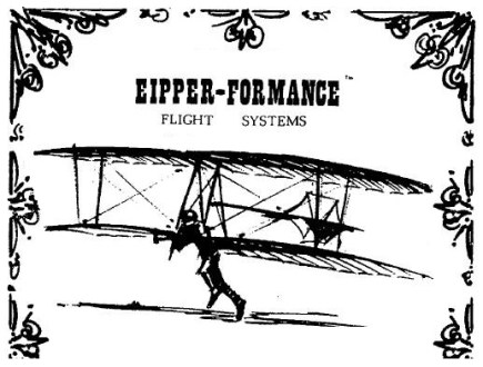 Quicksilver Aircraft Eipper added a seat  wheels  and a small engine behind the wing of the hang  glider  and the Quicksilver ultralight was born  This aircraft was  controlled by