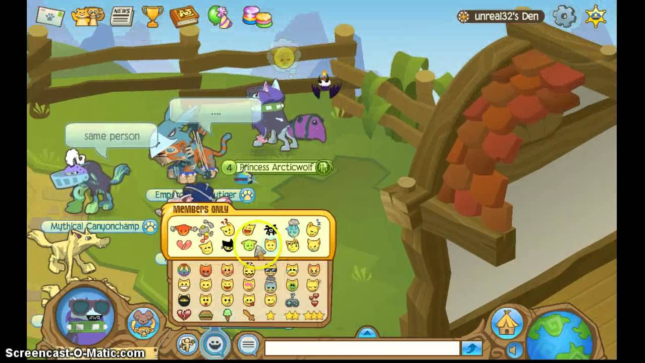 What is your Animal Jam animal    Quiz Hen What is your favorite thing to do on AJ
