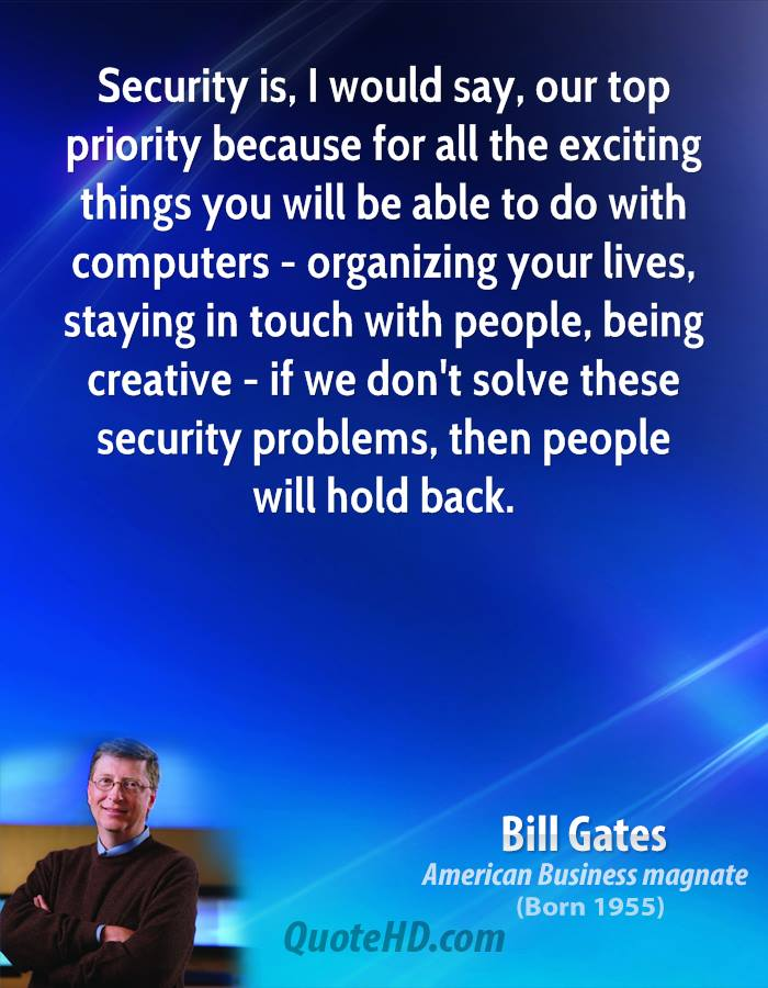 What Security Quotes
