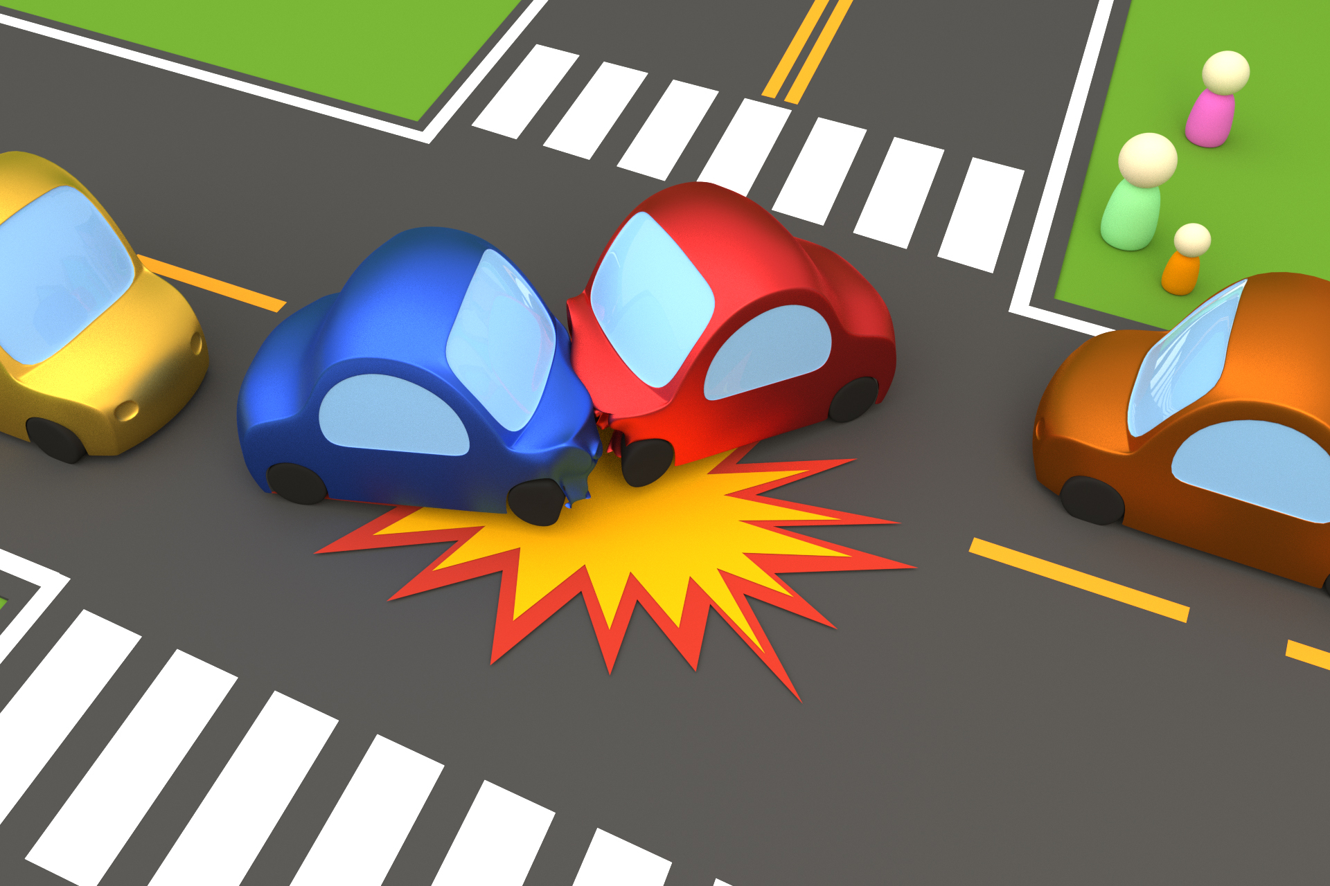 Two Vehicle Left Turn Collision Free Image Download