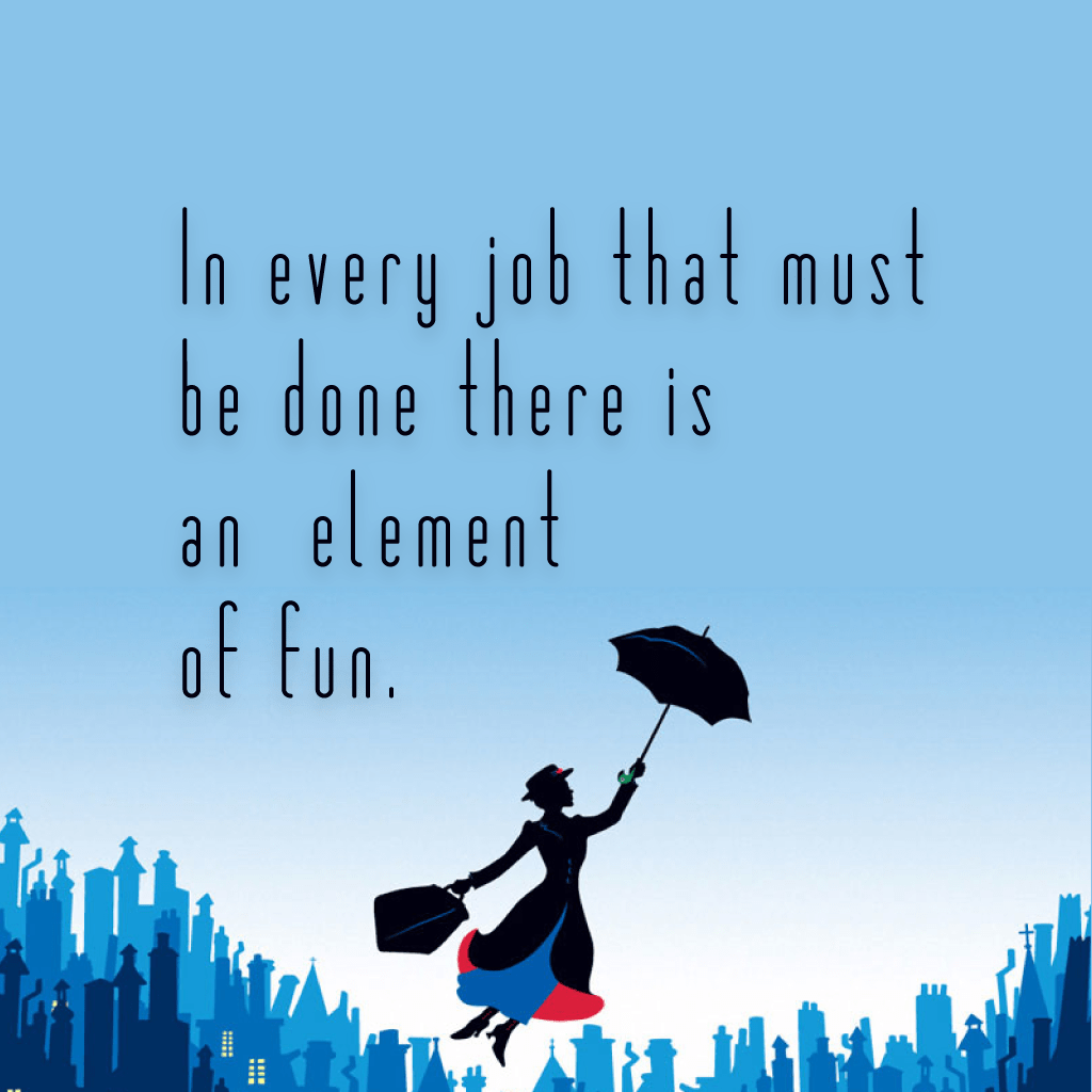 Quotes about Mary Poppins (74 quotes)