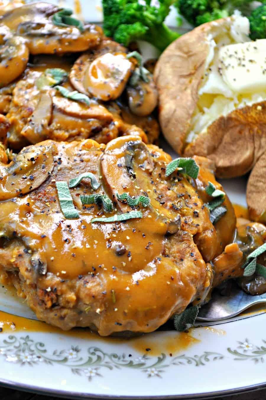 Vegan Lentil Salisbury Steak Rabbit And Wolves