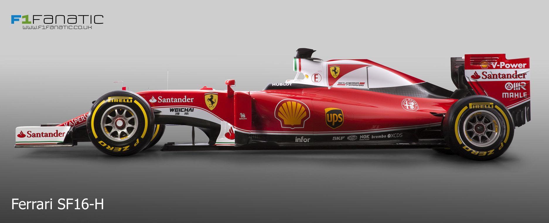 Compare Ferrari's new SF16-H with their 2015 car · RaceFans