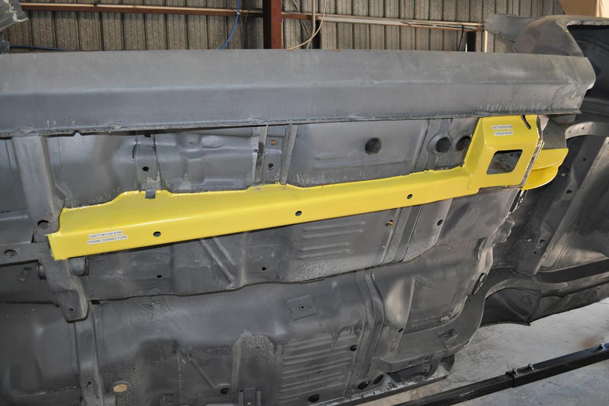 C Body Mopar Frame Connectors