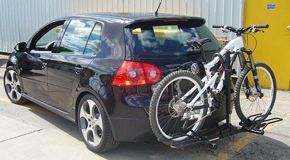 Mount Rack Hitch Bike Platform