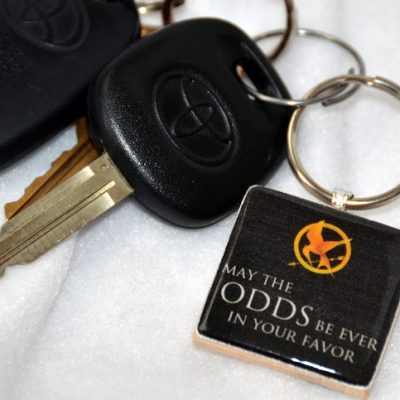 Guest Post: The Hunger Games Key Chain Giveaway with G*rated