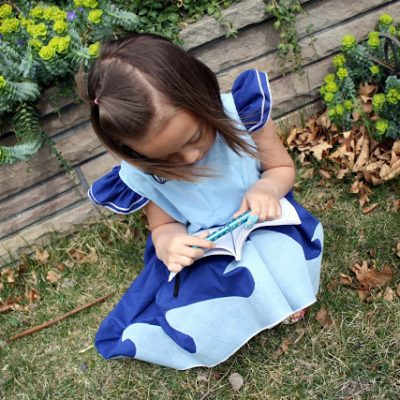 Show and Tell: Water Princess Dress