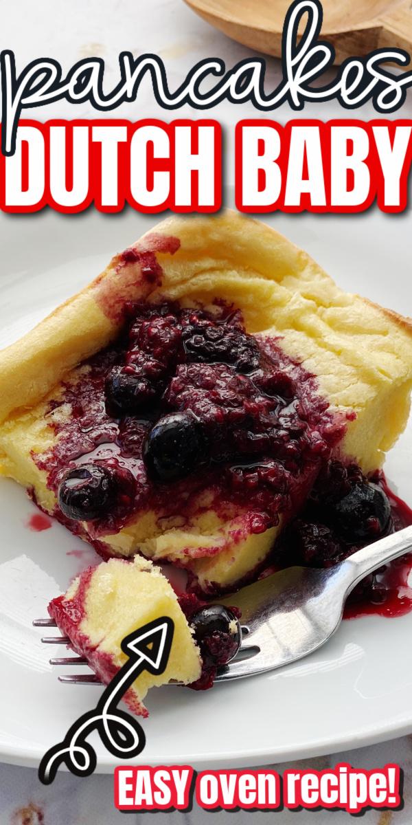 dutch babies oven pancake recipe also called German pancakes delicious breakfast idea