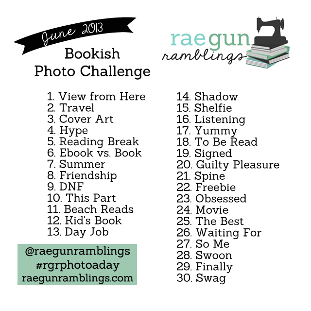 bookishrgrphotoaday  photo challenge june 2013