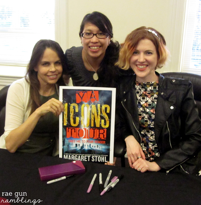 Stephanie Perkins and Margaret Stohl Icons Tour