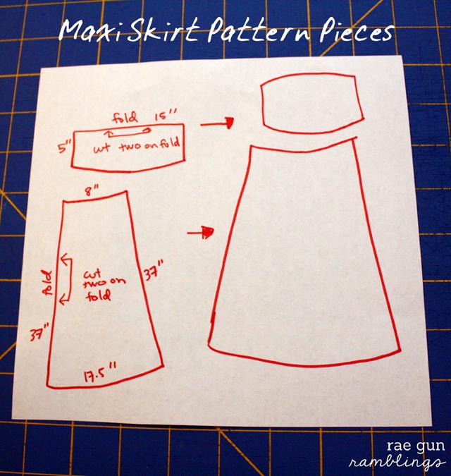 Free Maxi Skirt Pattern at Rae Gun Ramblings