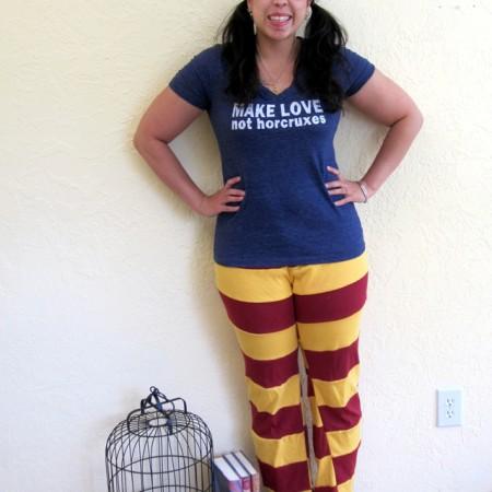 Make Your Own Gryffindor Harry Potter Pants at Rae Gun Ramblings