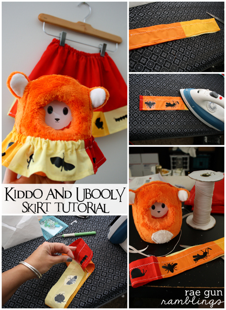 Bug Skirt Tutorial for the Ubooly Interactive Toy - Rae Gun Ramblings