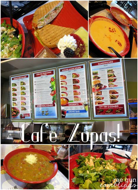 What's For Dinner: Cafe Zupas Edition