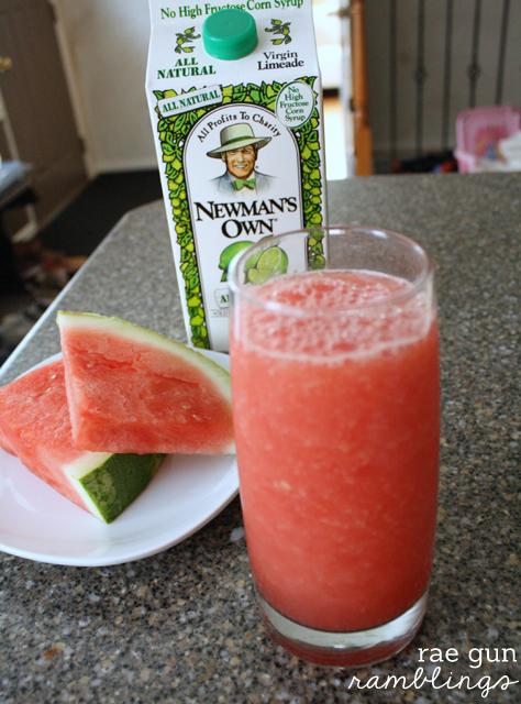 Healthy and speedy delicious watermelon lime cooler recipe - Rae Gun Ramblings