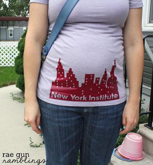 Cute New York Institute #mortalinstruments #cityofbones fan shirt - Rae Gun Ramblings