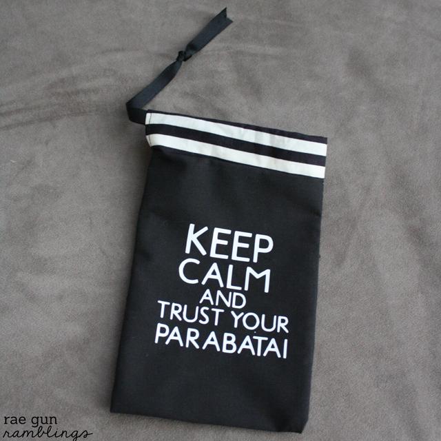 Parabatai pouches #tutotial #cityofbones #themoralinstruments -Rae Gun Ramblings