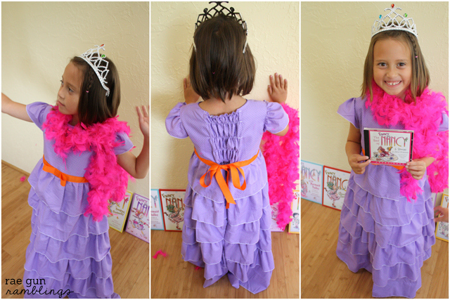Fancy Nancy Dress Tutorial Handmade Costume Series Rae Gun Ramblings
