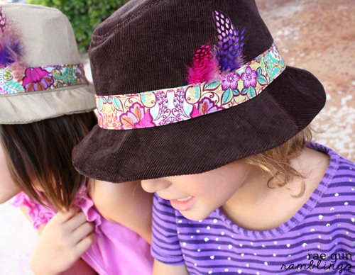 E & E 's childrens fedora pattern - Rae Gun Ramblings