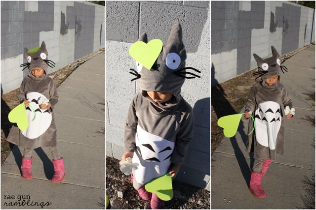 Totoro Halloween costume - Rae Gun Ramblings #anime #totoro #sewing