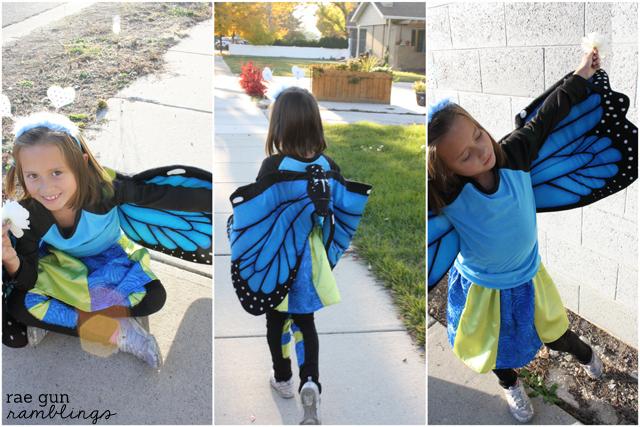 Butterfly Halloween costume - Rae Gun Ramblings