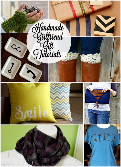 12 Great Handmade Girlfriend Gifts Ideas with Tutorials at Rae Gun Ramblings