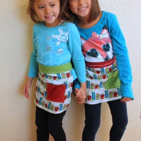 Quick and easy kid apron tutoria10 minute apron tutorial with free pattern - Rae Gun Ramblings