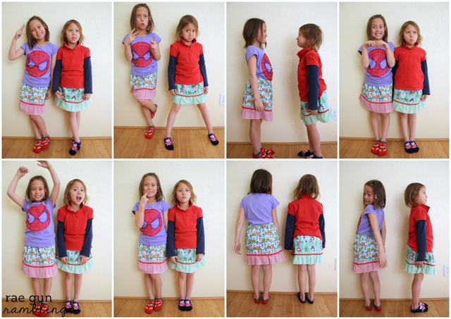 Kid ruffle skirt tutorial. Perfect beginning sewing project - Rae Gun RamblingsKid ruffle skirt tutorial. Perfect beginning sewing project - Rae Gun Ramblings