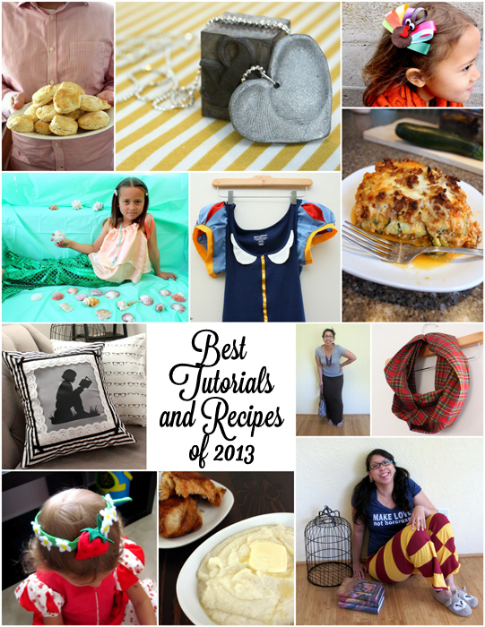 Best of 2013 Craft and Sewing Tutorials and Recipes - Rae Gun Ramblings