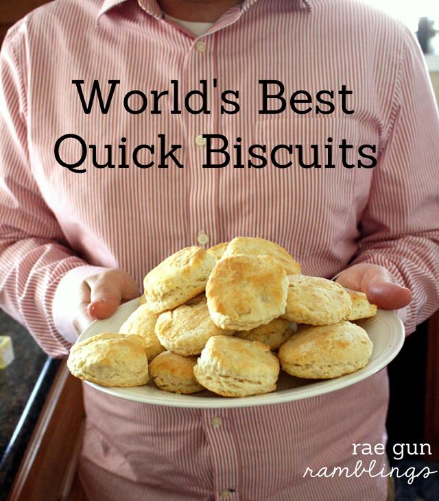 best quick biscuit recipe at Rae Gun Ramblings