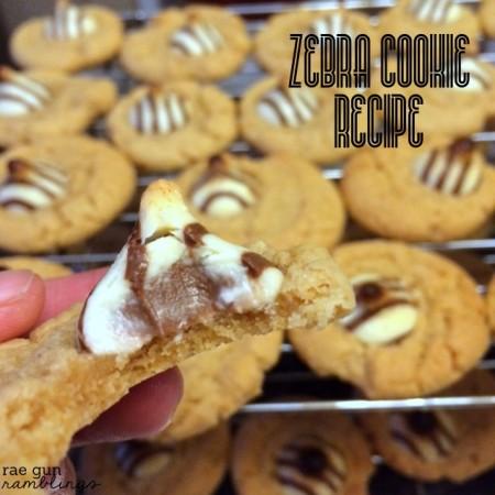 Zebra Cookies Recipe. This is one of my absolute favorite cookie recipes - Rae Gun Ramblings