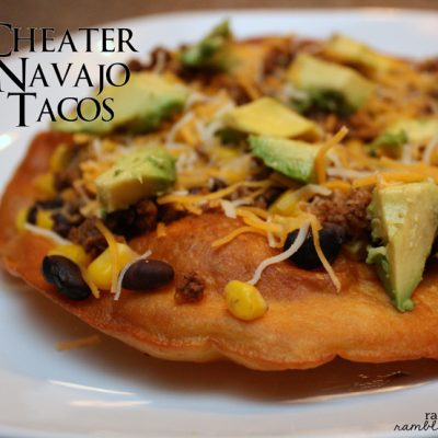 What's for Dinner: Cheater Navajo Tacos