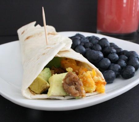 Super Yummy and Easy Breakfast Burritos at Rae Gun Ramblings #RedboxBreakfast #PMedia #ad