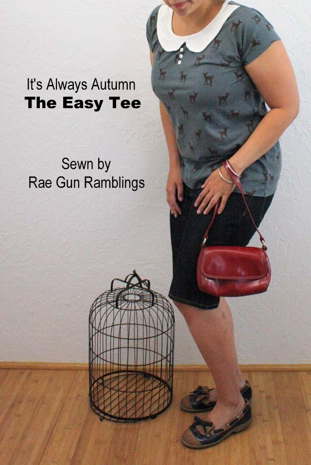 Super fast and easy free shirt pattern for women - Rae Gun Ramblings