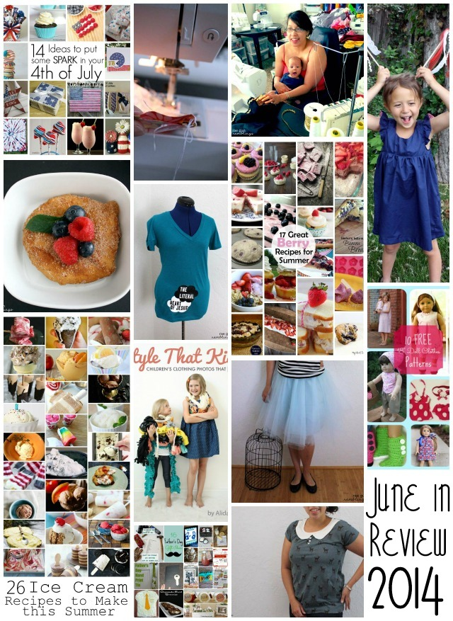 June Crafts and Recipes at Rae Gun Ramblings