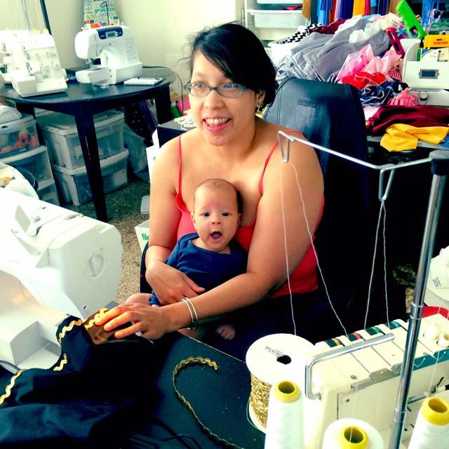 Marissa from Rae Gun Ramblings blog and Rae Gun shop