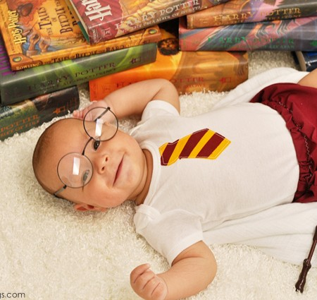 Cutest Harry Potter Baby Pictures ever! at Rae Gun Ramblings