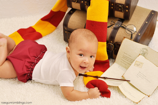 How darling are these baby Harry Potter pictures!! Rae Gun Ramblings