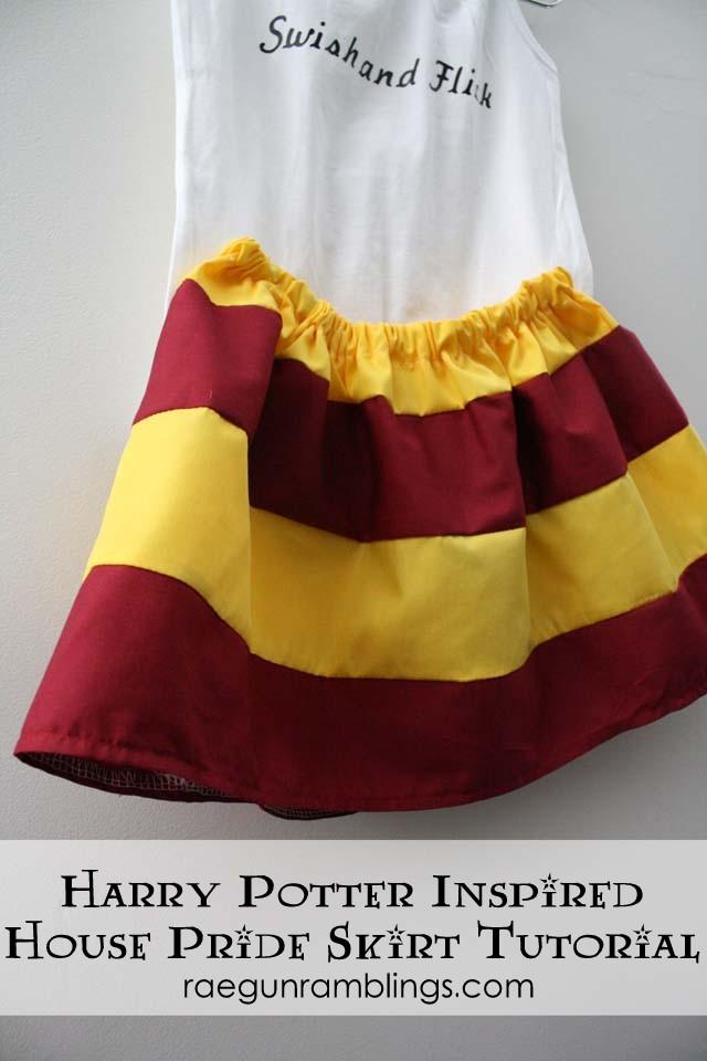 Simple 20 minute stripe skirt tutorial - Rae Gun Ramblings