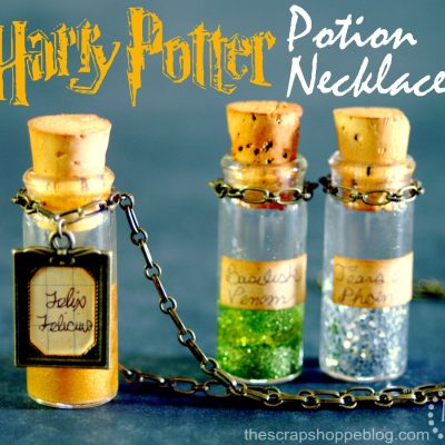 Harry Potter Potion Necklaces, Muggle Shirt and More