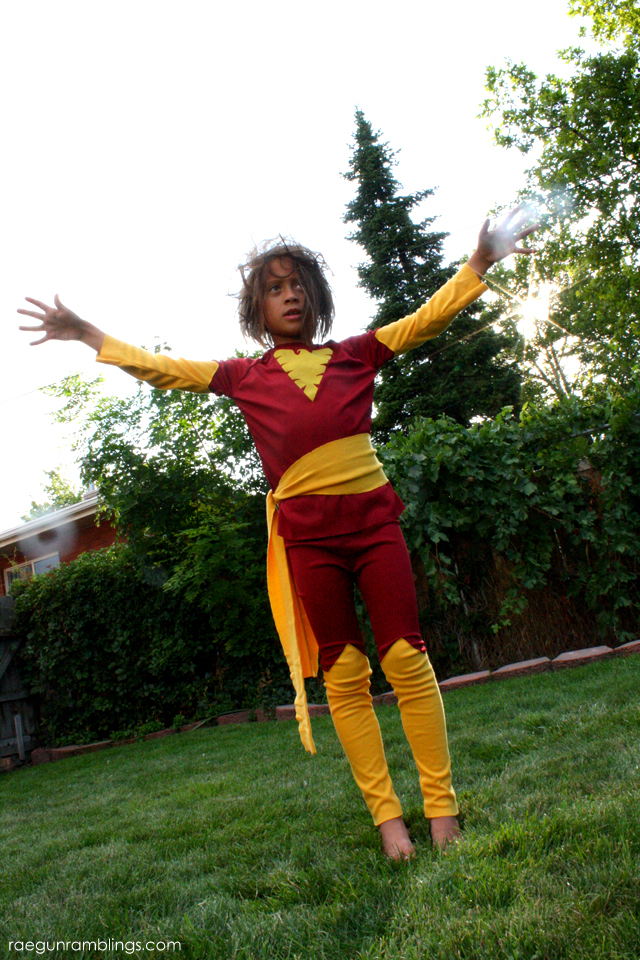 DIY Dark Phoenix Costume - Rae Gun Ramblings