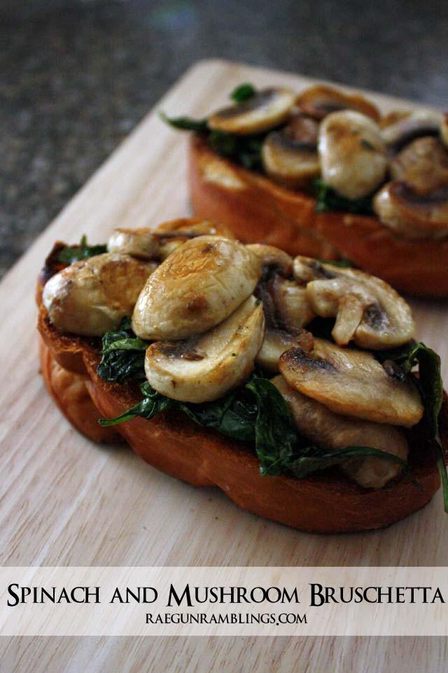 Spinach Mushroom Toast-003s
