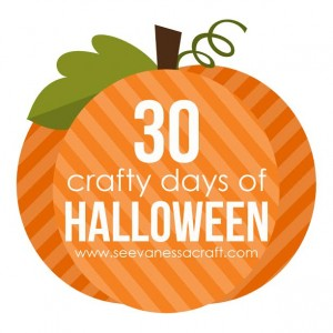30 crafty days of hallowen