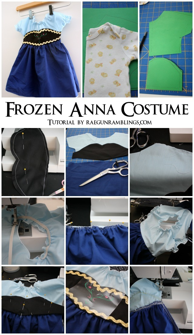 Anna Frozen Costume Tutorial - Rae Gun Ramblings