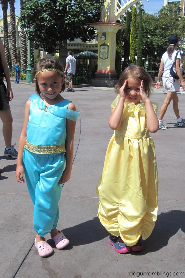 DIY DIsney Princess Costumes. Tutorials at Rae Gun Ramblings