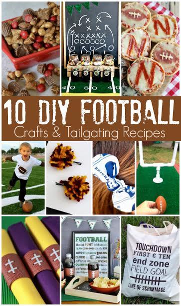 Great Football Crafts and Recipes - Rae Gun Ramblings