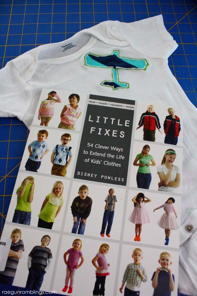 little fixes a book full of creative ways to stretch the life of kid clothing - Rae Gun Ramblings