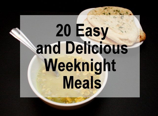 Easy, yummy and doable weeknight meals - Rae Gun Ramblings